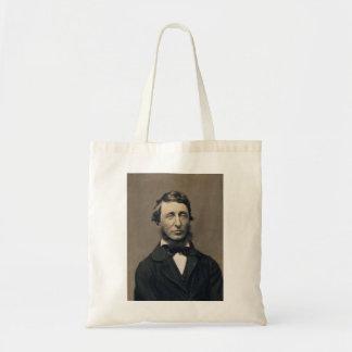 Henry David Thoreau Portrait Maxham daguerreotype Budget Tote Bag