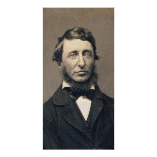 Henry David Thoreau Portrait Maxham daguerreotype Personalized Photo Card
