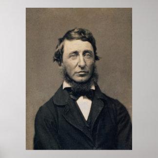 Henry David Thoreau Portrait Maxham daguerreotype Print