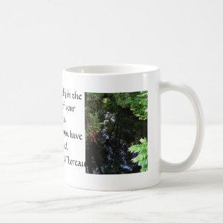 Henry David Thoreau QUOTATION Coffee Mugs