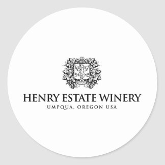 Henry Estates Products Round Stickers