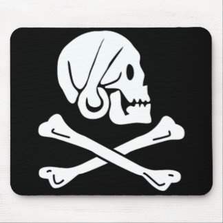 Henry Every authentic pirate flag Mouse Pad