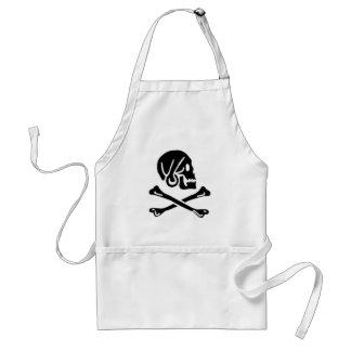Henry Every authentic pirate flag Standard Apron