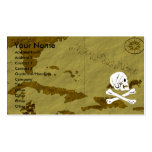 Henry Every Map #13 Double-Sided Standard Business Cards (Pack Of 100)
