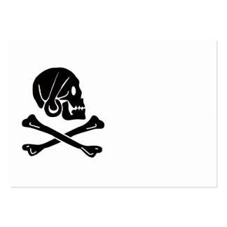 Henry Every Pirate Flag Design Pack Of Chubby Business Cards