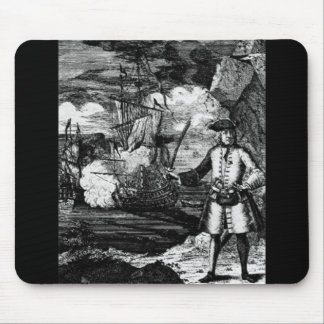 Henry Every Pirate Portrait Mouse Mats