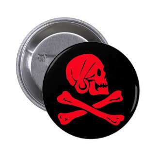 Henry Every-Red 6 Cm Round Badge