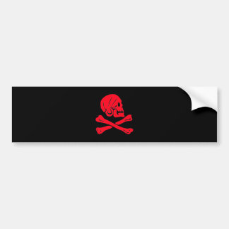 Henry Every-Red Bumper Sticker