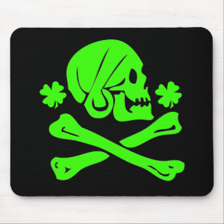 Henry Every-Shamrock Mouse Pad