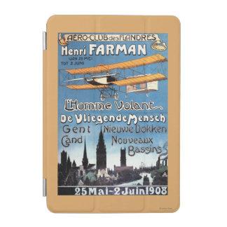 Henry Farman Flies the Flying Man Promo Poster iPad Mini Cover