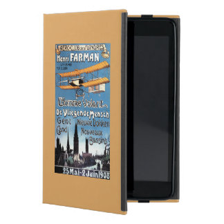 Henry Farman Flies the Flying Man Promo Poster iPad Mini Cover