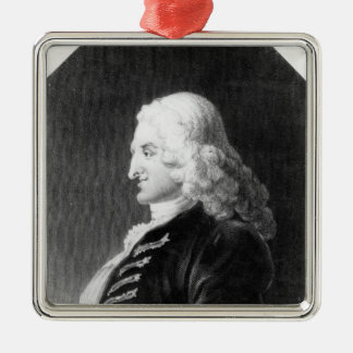 Henry Fielding  engraved by Samuel Freeman Christmas Ornament