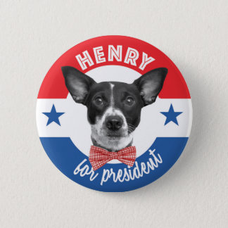 Henry For President Button