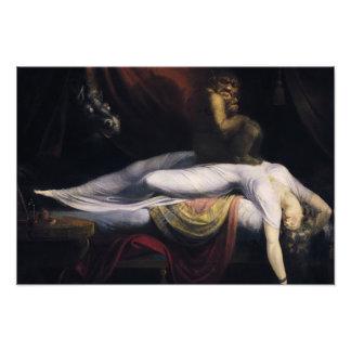 Henry Fuseli - The Nightmare Photo Print