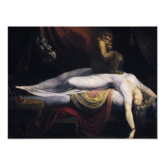 Henry Fuseli - The Nightmare Photo Print