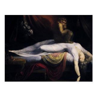 Henry Fuseli - The Nightmare Postcard