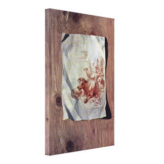 Henry Fuseli - Trompe-loeil Canvas Print
