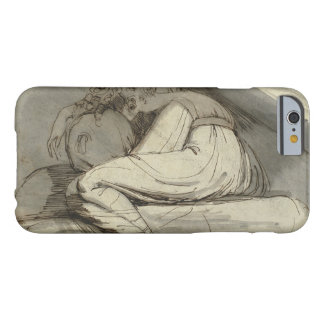 Henry Fuseli - Woman Sitting, Curled Up Barely There iPhone 6 Case
