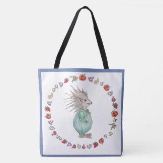 Henry Hedgehog Baby Tote Bag