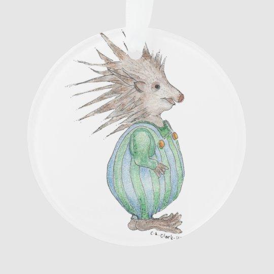 Henry Hedgehog Christmas Ornament