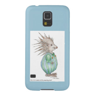 Henry Hedgehog Samsung S5 Case Blue Accent Galaxy S5 Covers