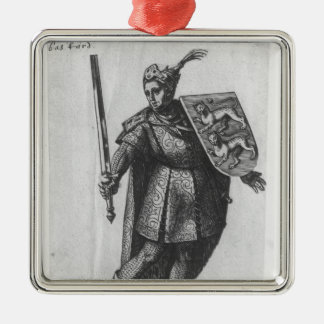 Henry I  King of England Christmas Ornament