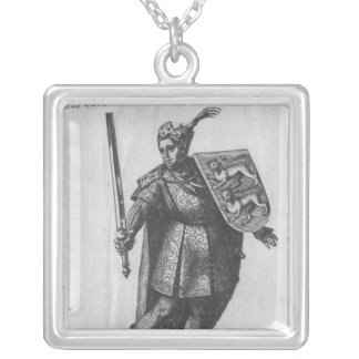 Henry I  King of England Silver Plated Necklace