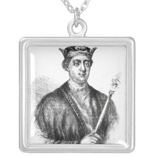 Henry II Silver Plated Necklace