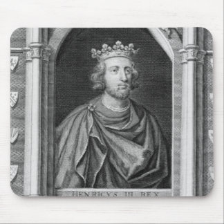 Henry III (1207-72) King of England from 1216, eng Mouse Pad