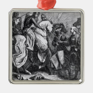 Henry III  at the Battle of Lewes, 14th May 1264 Christmas Ornament