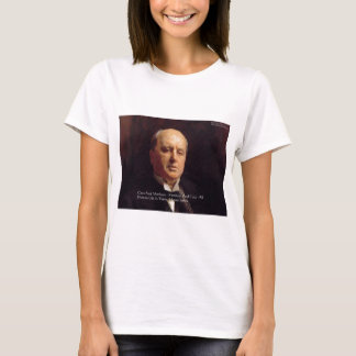 "Henry James ""Monkeys & Cats"" Wisdom Quote Gifts T-Shirt"