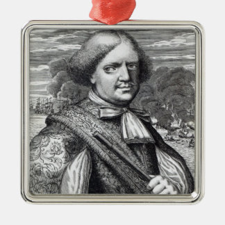 Henry Morgan, 1678 Christmas Ornament