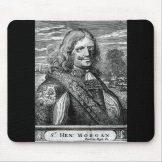 Henry Morgan Pirate Portrait Mouse Pad