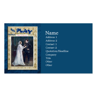 Henry of Navarre Pack Of Standard Business Cards