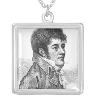 Henry Pearce Square Pendant Necklace