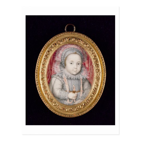 Henry, Prince of Wales (miniature portrait) Postcard