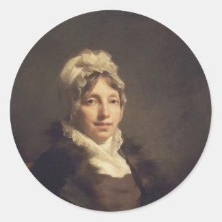 Henry Raeburn- Ann Fraser Mrs Alexander Tytler Sticker