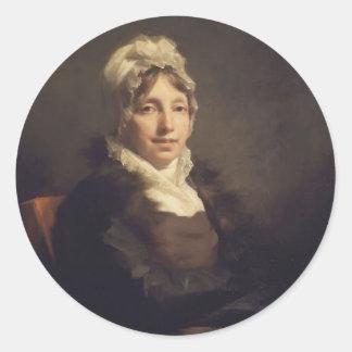 Henry Raeburn- Ann Fraser, Mrs. Alexander Tytler Sticker