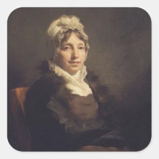 Henry Raeburn- Ann Fraser, Mrs. Alexander Tytler Stickers