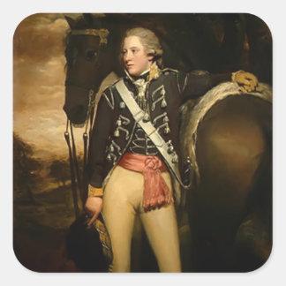 Henry Raeburn- Captain Patrick Miller Sticker
