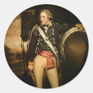 Henry Raeburn- Captain Patrick Miller Stickers