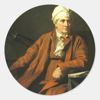 Henry Raeburn- John Robison Round Sticker