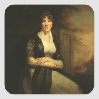 Henry Raeburn- Lady Anne Torphicen Stickers