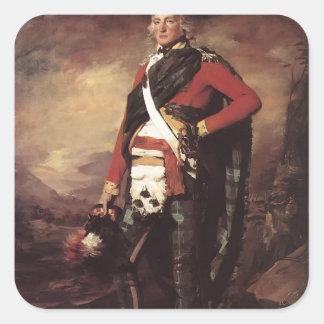 Henry Raeburn- Sir John Sinclair Stickers