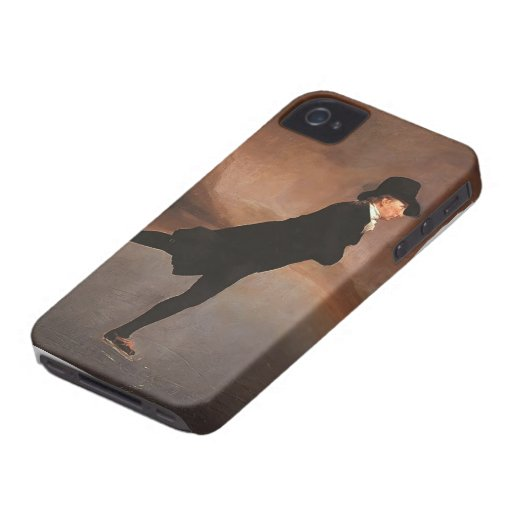 Henry Raeburn- The Skating Minister iPhone 4 Case