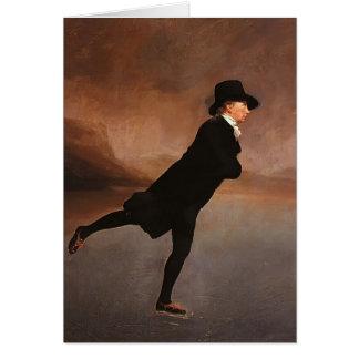 Henry Raeburn- The Skating Minister Greeting Card