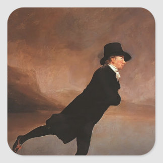 Henry Raeburn- The Skating Minister Stickers