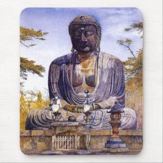 Henry Roderick Newman: Daibutsu at Kamakura, Japa Mouse Pad