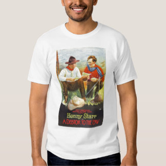 Henry Starr A Debtor to the Law 1919 movie poster T-shirts