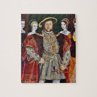 Henry The Eighth and His Six Wives Jigsaw Puzzle
